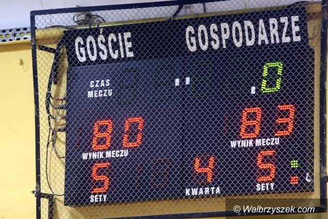 Wałbrzych: Wygrany mecz juniorów, czekamy na decyzję z PZKosz'a