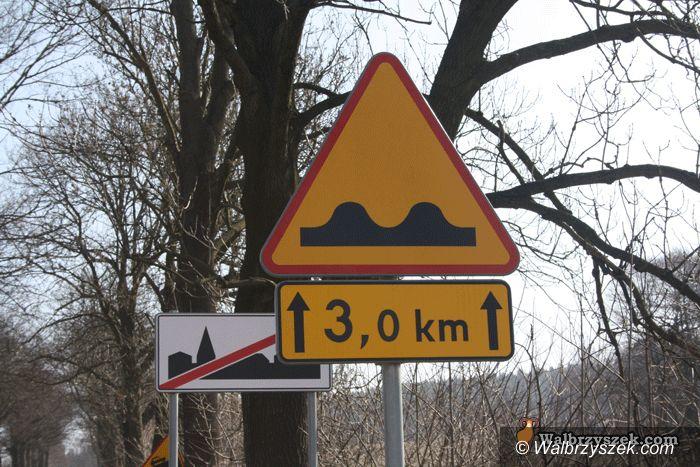 REGION, Jabłów: Koszmarna droga wreszcie jest łatana