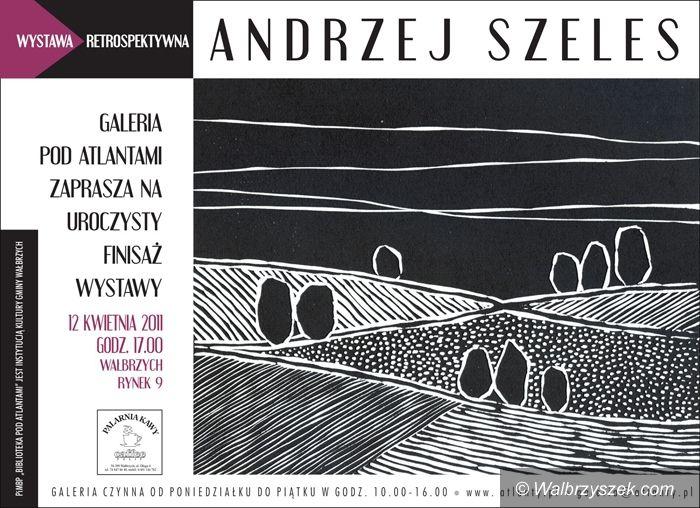 Wałbrzych: Finisaż wystawy Andrzeja Szelesa
