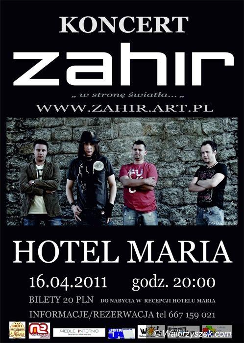Wałbrzych: Zahir wystąpi w Hotelu Maria