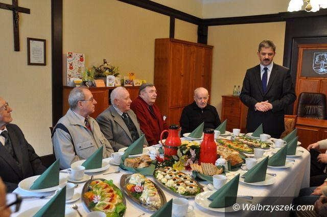 Wałbrzych: Prezydent spotkał się z kombatantami
