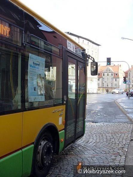 Wałbrzych: Autobusy jeżdżą inaczej