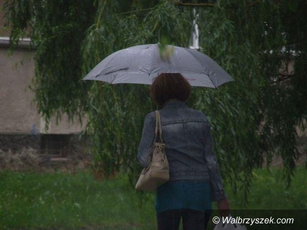 region: Jeszcze będzie lało i grzmiało