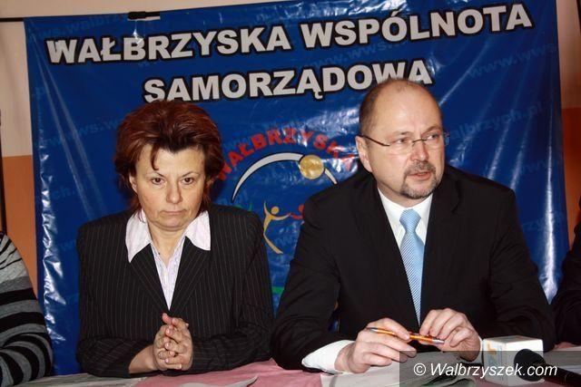 Wałbrzych: PO czuje się bezkarna – list kandydatów na prezydenta do premiera Tuska