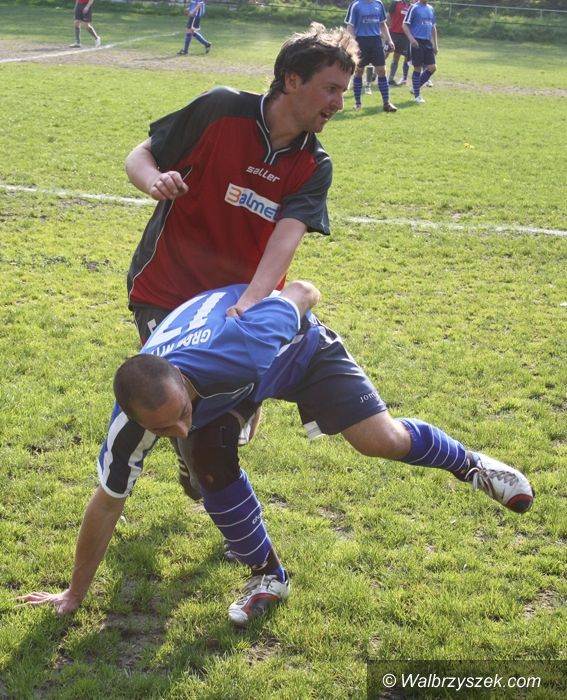 Wałbrzych: Piłkarska klasa okręgowa: Niemal stuprocentowa skuteczność Gromu w meczu z Juventurem