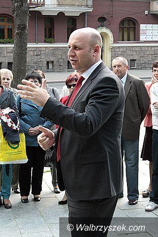 Wałbrzych: Lewica uczciła robotnicze święto