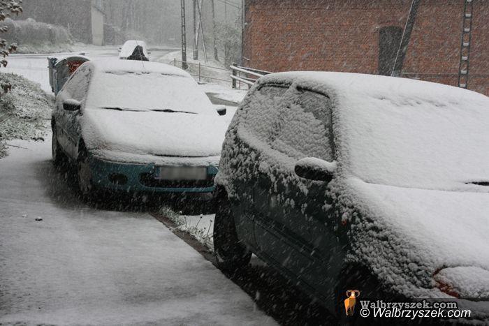 Wałbrzych/REGION: Nieoczekiwany powrót zimy