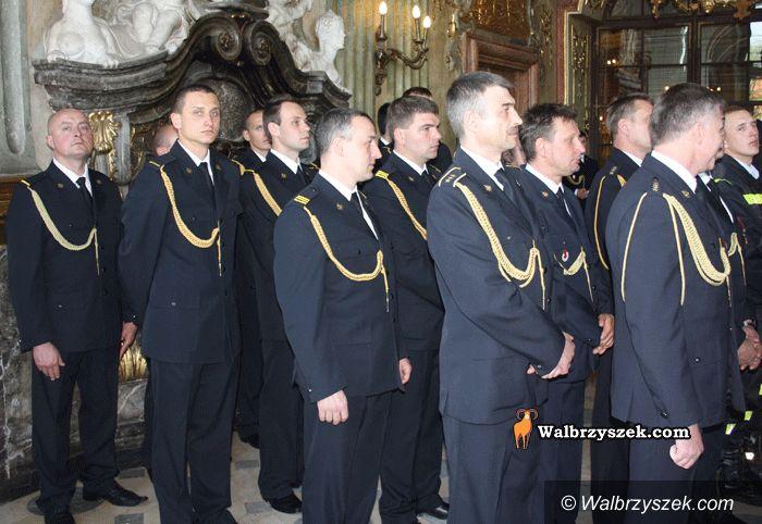 Wałbrzych: Uroczysta gala strażaków w Sali Maksymiliana
