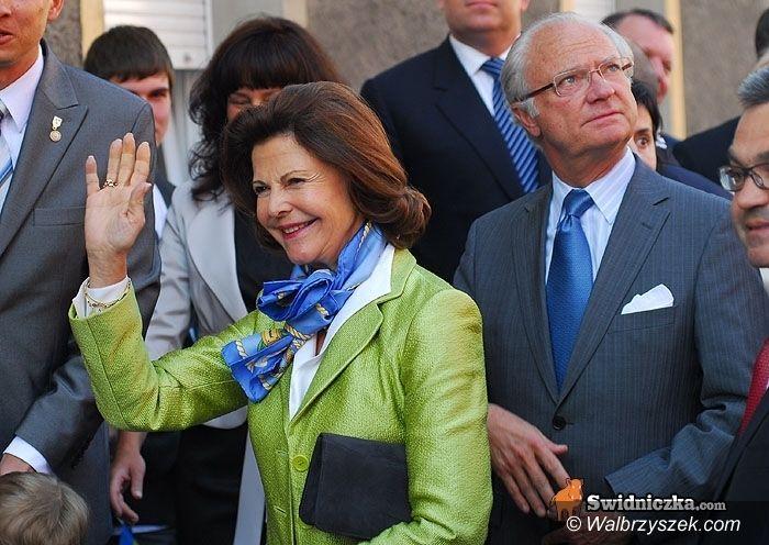 REGION/Świdnica: Już po królewskiej wizycie