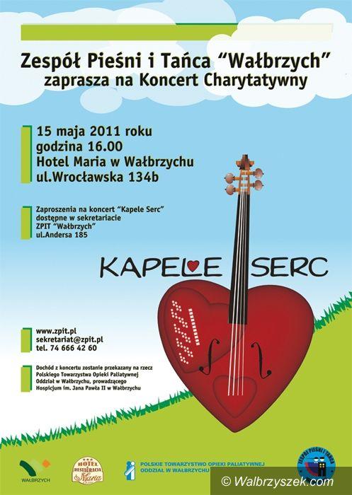 """Wałbrzych: """"Kapela Serc"""" dla wałbrzyskiego Hospicjum"""