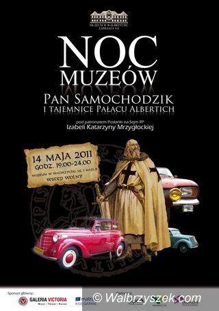Wałbrzych: Noc Muzeów w Pałacu Albertich