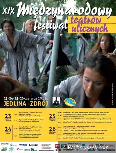 REGION, Jedlina-Zdrój: Teatry uliczne zagoszczą w Jedlinie–Zdroju