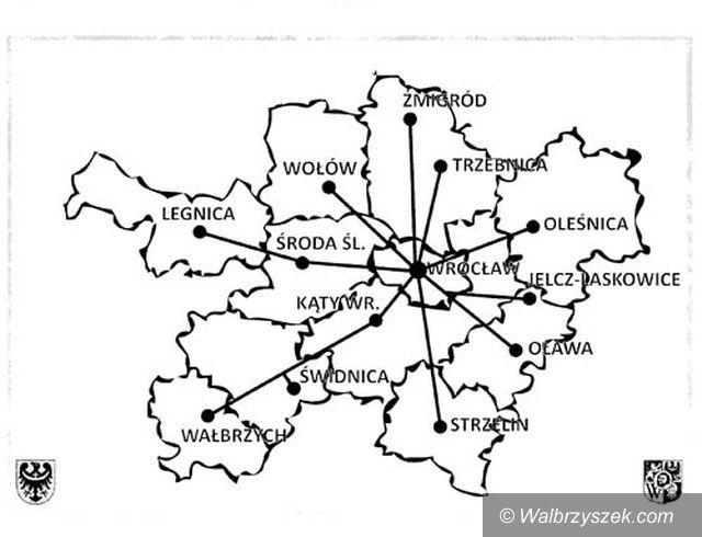 Wałbrzych/Wrocław: Powiat Wałbrzyski dołączył do aglomeracji wrocławskiej