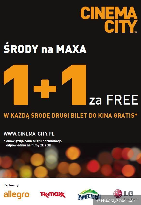 """Wałbrzych: """"Środy na Maxa"""" w Cinema City oraz IMAX"""