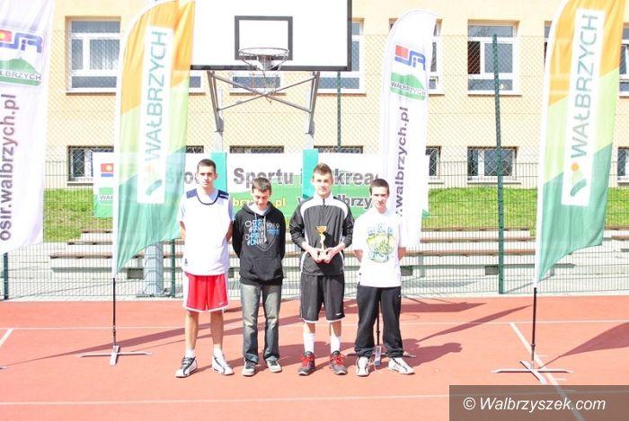 Wałbrzych: Grali w streetballa