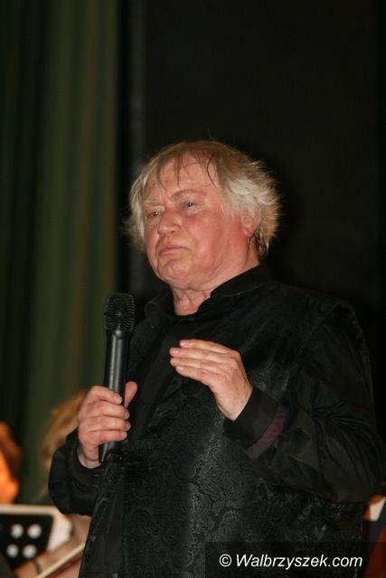 Szczawno - Zdrój: Jerzy Maksymiuk w Teatrze Zdrojowym