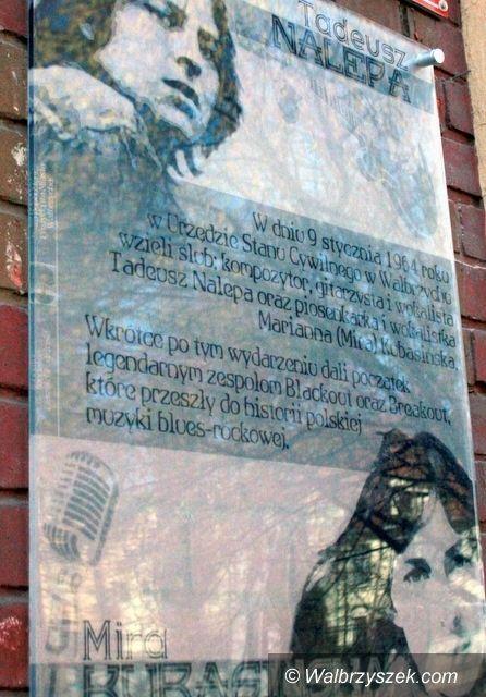 Wałbrzych: W piątek przenosiny tablicy pamiątkowej