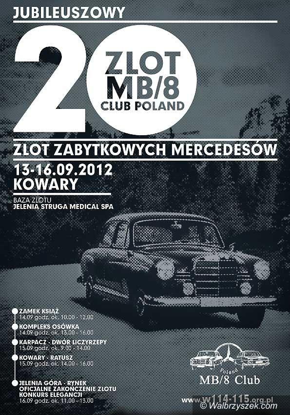 Wałbrzych: Zabytkowe Mercedesy przyjadą do Wałbrzycha