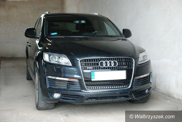 Wałbrzych: Odzyskano skradzione  Audi Q7