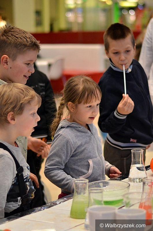 Wałbrzych: Szaleni naukowcy odwiedzili Galerię Victoria