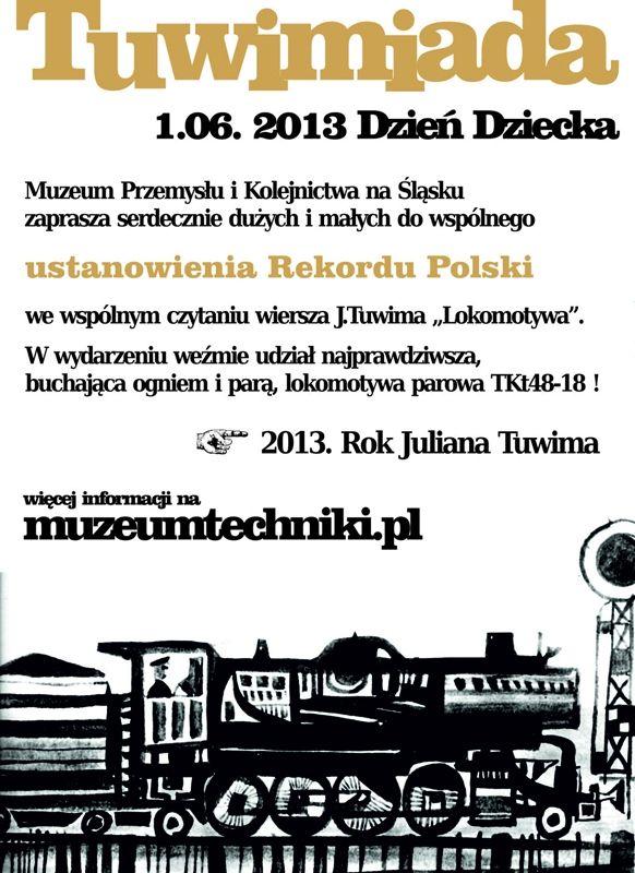 Dzień Dziecka W Muzeum Przemysłu I Kolejnictwa Na śląsku