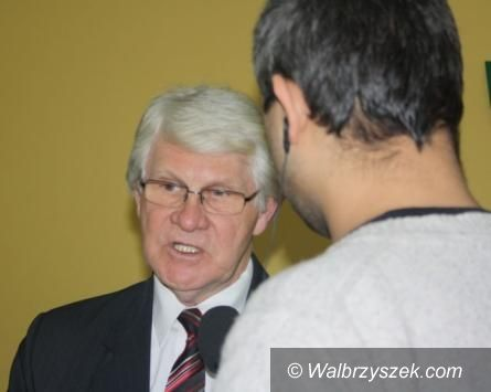 powiat wałbrzyski: Powiat Wałbrzyski za korytarzami drogowymi