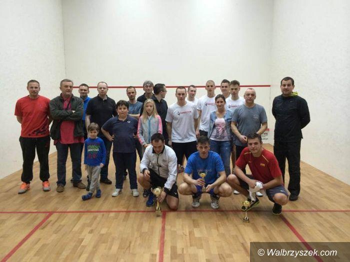 Wałbrzych: Za nami turniej squasha