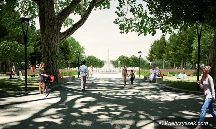 Region: Świdnica: Park Centralny może się zmienić w Park Światła