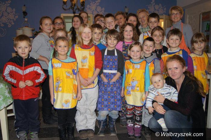 Region: Dzielili się posiłkiem w Sokołowsku