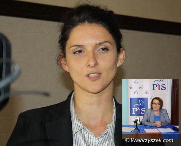 Wałbrzych: Anna Żabska odnosi się do słów posłanki Anny Zalewskiej