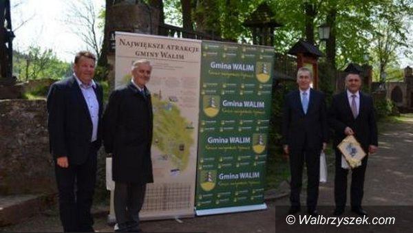 Walim: Minister na Zamku Grodno