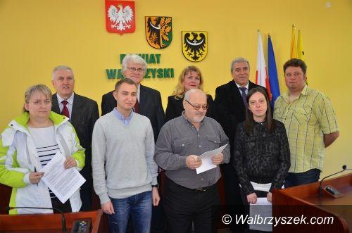 powiat wałbrzyski: Aktywny samorząd