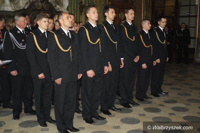Wałbrzych: Strażacy nagrodzeni medalami