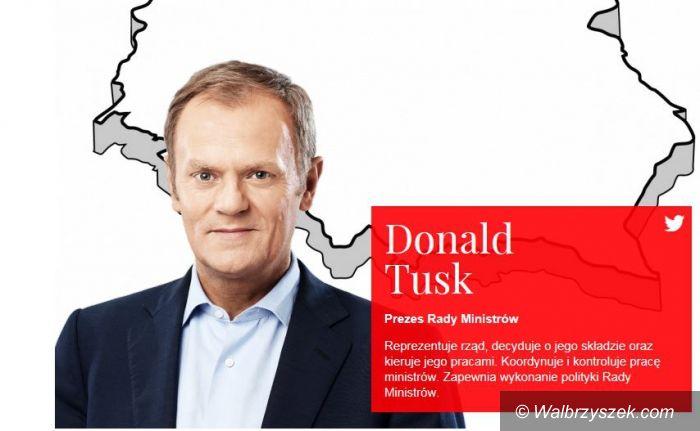 Wałbrzych: Wizyta Premiera Donalda Tuska w Wałbrzychu