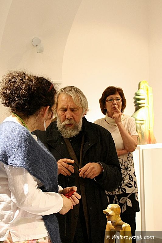 Wałbrzych: Wystawa rzeźb Jana Gromady
