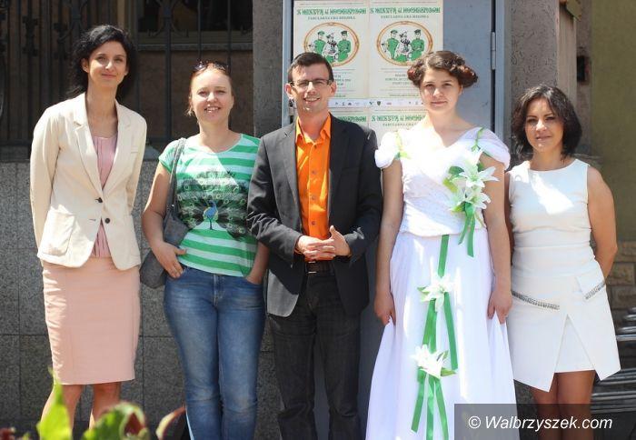 Wałbrzych: Plenerowa gra miejska na urodziny księżnej Daisy