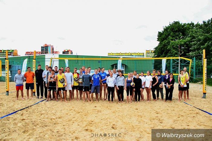 Wałbrzych: Grand Prix Wałbrzycha w siatkówce plażowej
