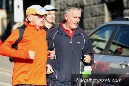 Wałbrzych: Prezydent Szełemej przygotowuje się do Półmaratonu Wałbrzyskiego