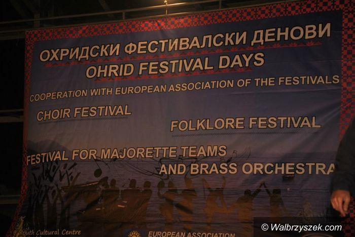 """Macedonia: Zespół Pieśni i Tańca """"Wałbrzych"""" na VII Międzynarodowym Festiwalu Folkloru """"Ohrid Waves"""""""