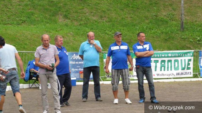 Wałbrzych: Mistrzowie grali w bule