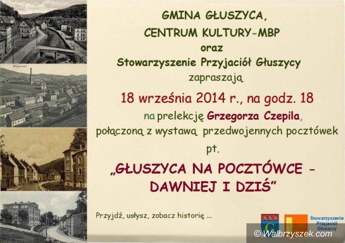 REGION, Głuszyca: Głuszyca na starej pocztówce