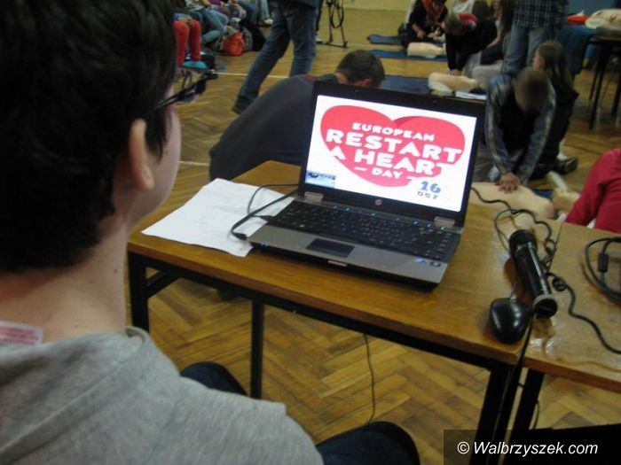 """Wałbrzych: """"Restart a Heart"""" w PG nr 3 w Wałbrzychu"""
