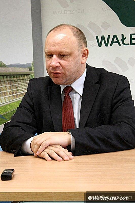 Wałbrzych: Minister Bogusław Ulijasz w Wałbrzychu