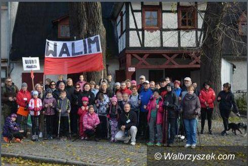 Walim: Walim: IV Rodzinny Marsz Nordic Walking