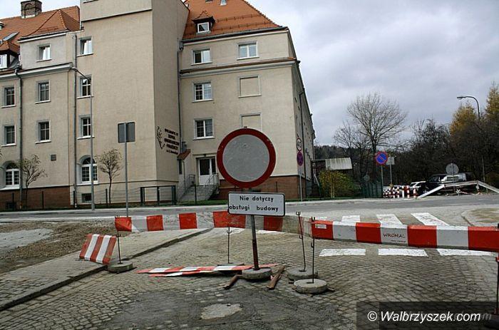 Wałbrzych: Zakończył się remont ulicy Paderewskiego