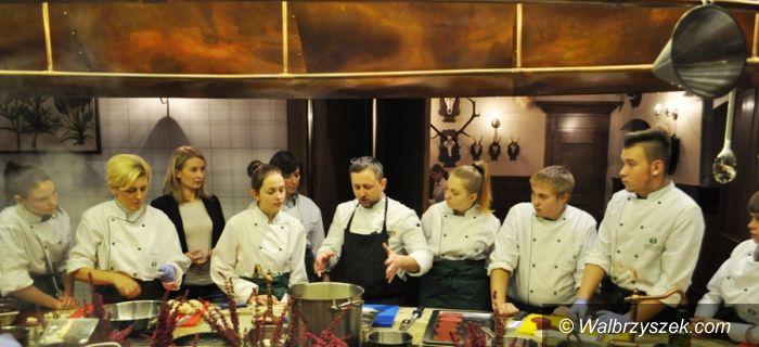 Wałbrzych: Warsztaty kulinarne dla uczniów Rzemieślniczej Zasadniczej Szkoły Zawodowej