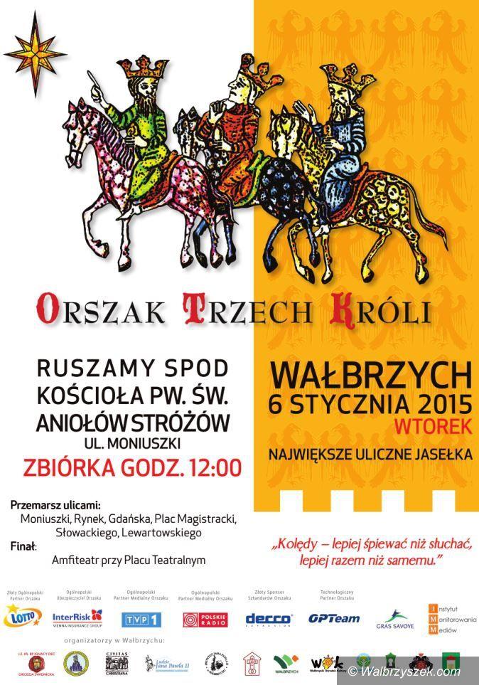Wałbrzych: Orszak Trzech Króli już jutro w Wałbrzychu