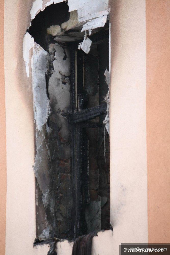Wałbrzych: Gaz wybuchł w kamienicy przy Wrocławskiej