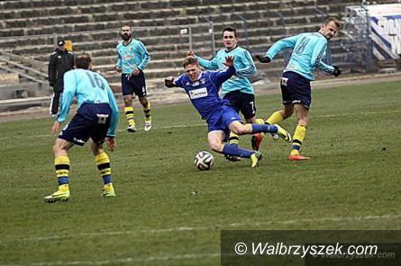 Wałbrzych: Piłkarze Górnika po pierwszym treningu