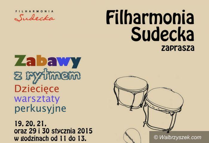 Wałbrzych: Filharmonia Sudecka zaprasza na warsztaty instrumentalne